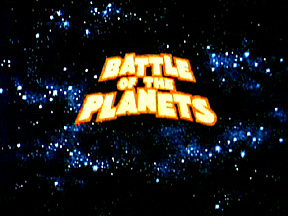 Original Battle of the Planets Logo