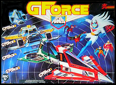 Battle Of The Planets Toys 102